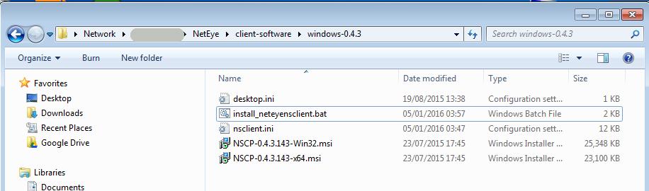 Monitoring Agent NSClient++ MSI deployment | www neteye-blog com