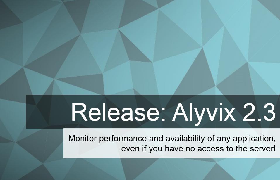 Release Alyvix 2.3 EN
