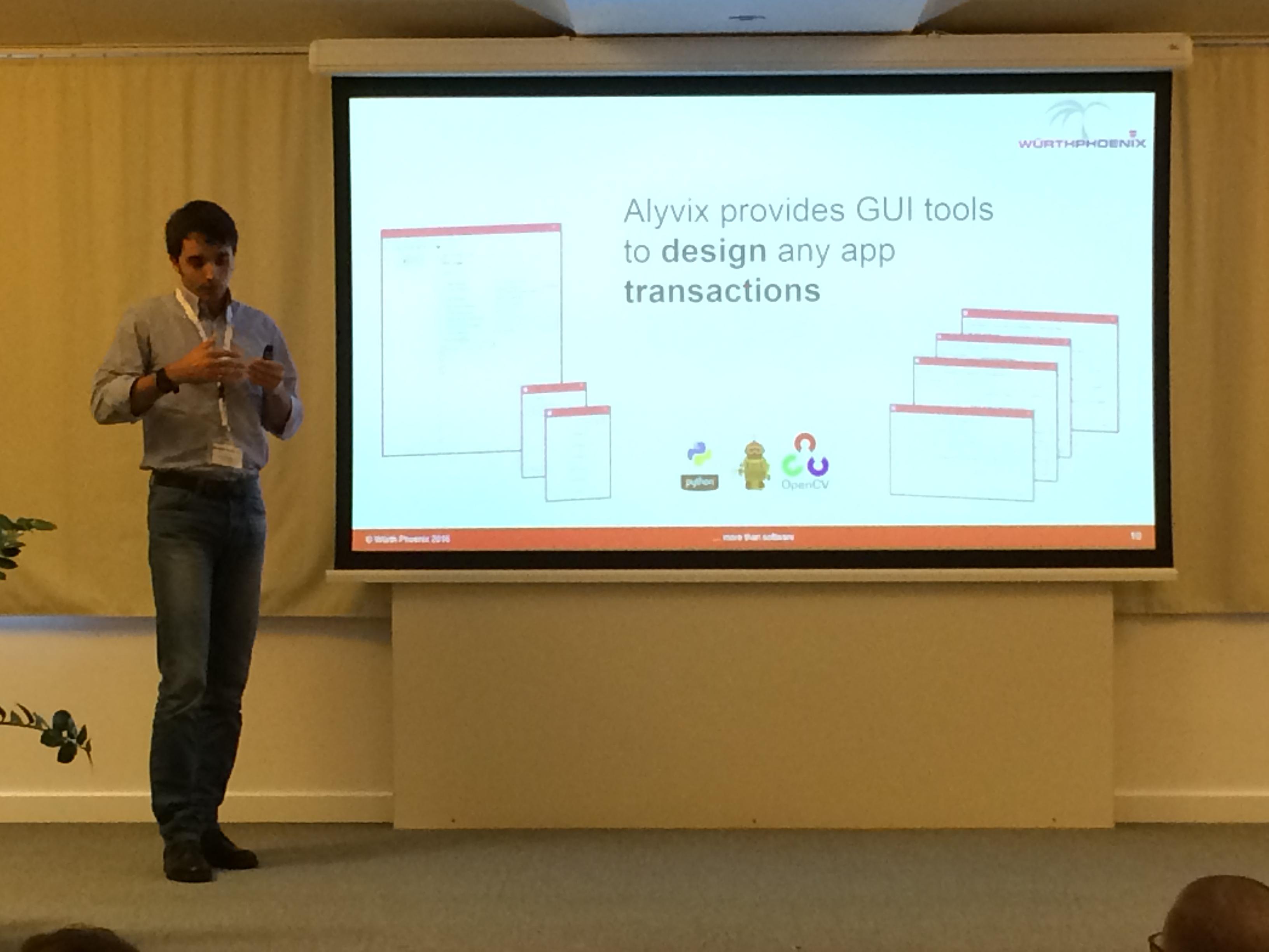 Il progetto Alyvix per il monitoraggio della End User Experience illustrato dal Product Manager Francesco Melchiori