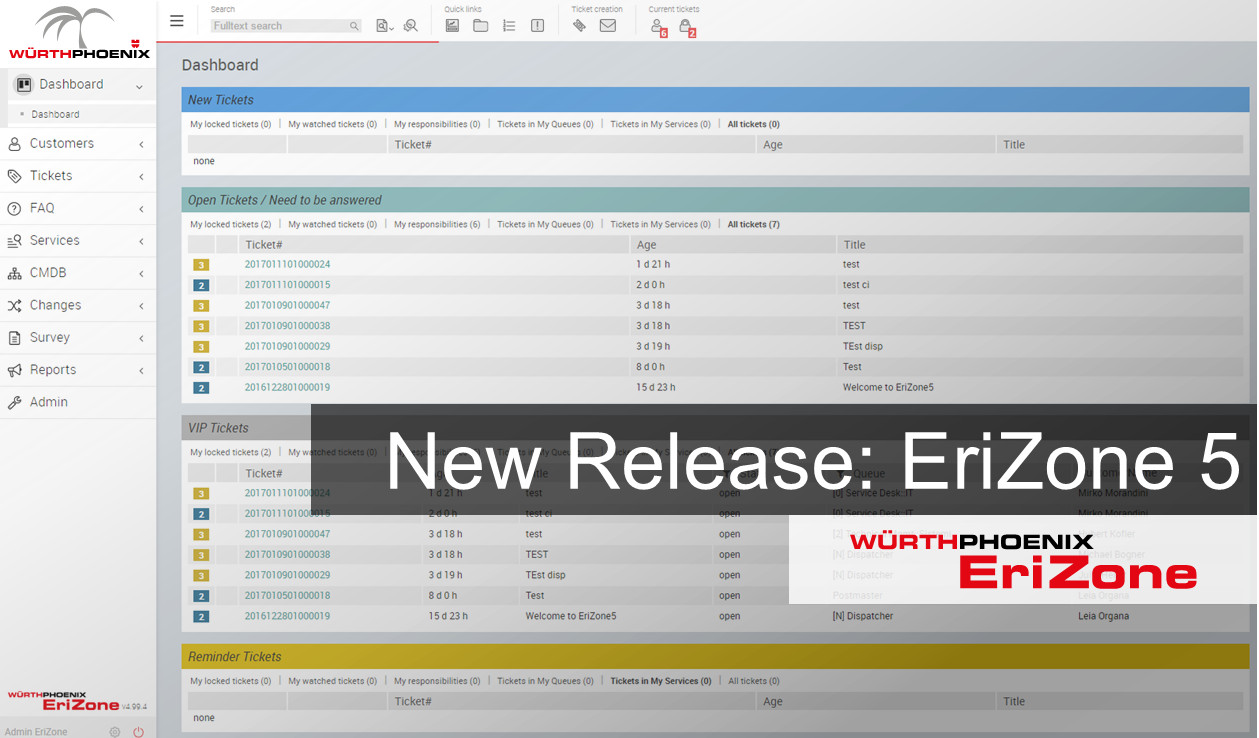 New Release Notes EriZone5