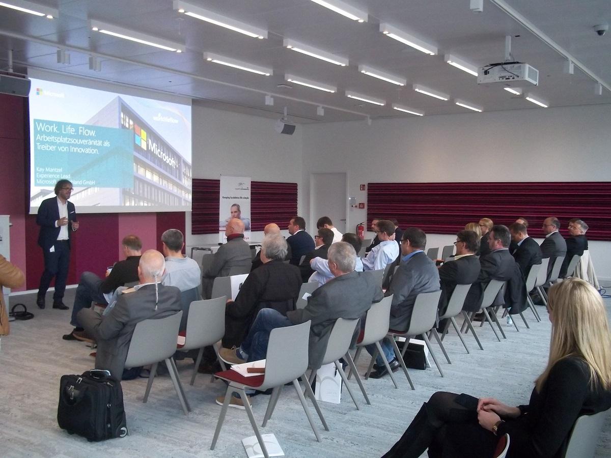 Impressionen zur ersten Ausgabe der IT System Management Roadshow in München