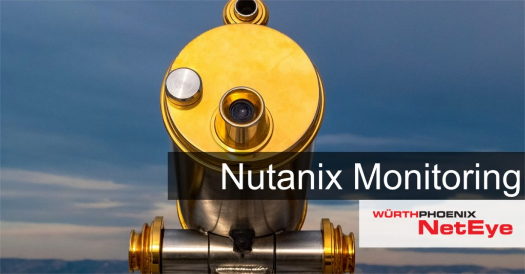 Nutanix Monitoring with NetEye