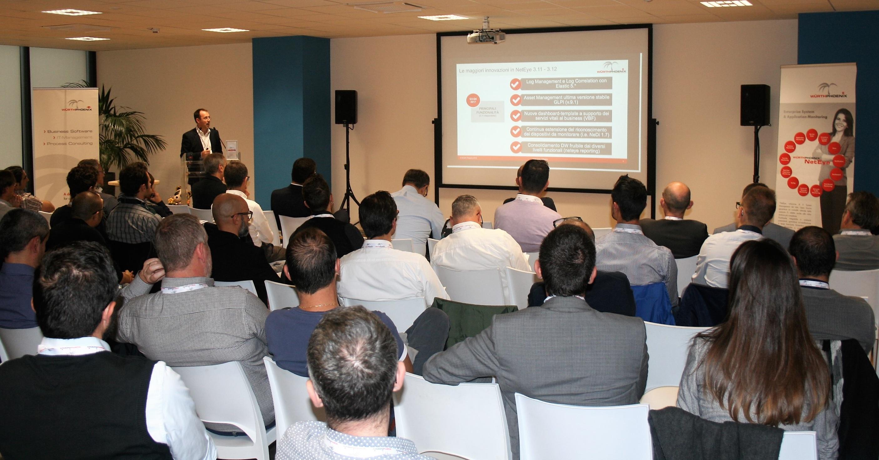Nicola Degara sorprende la platea con le innovazioni di NetEye e EriZone