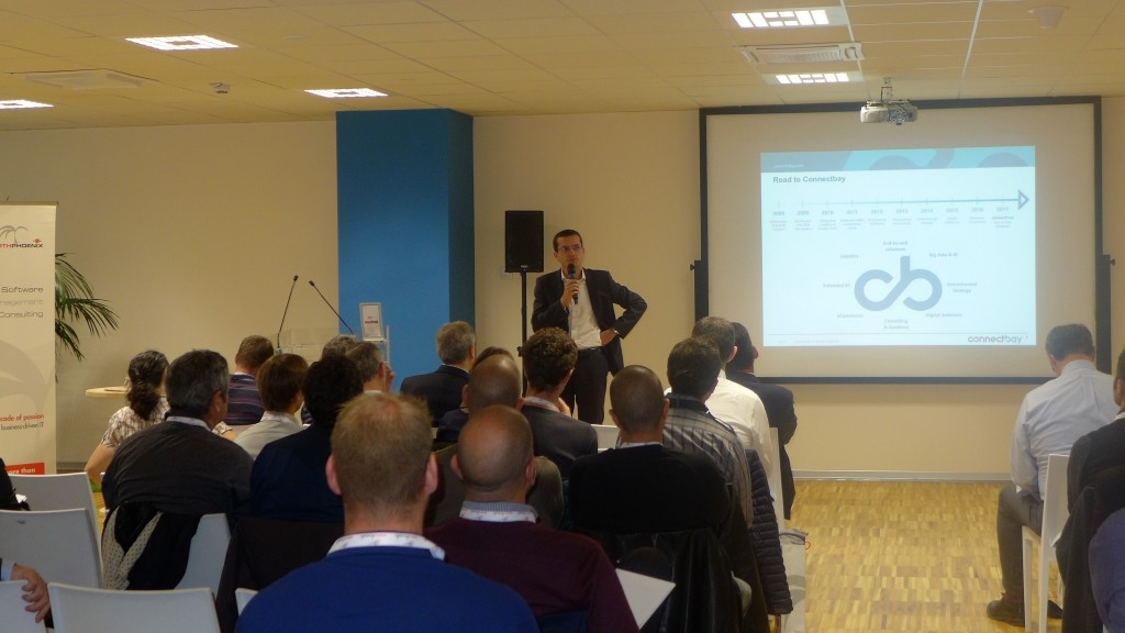 Alessio Longhini, Amministratore Delegato di Connectbay, introduce gli obiettivi della digital transformation per il Gruppo Thun
