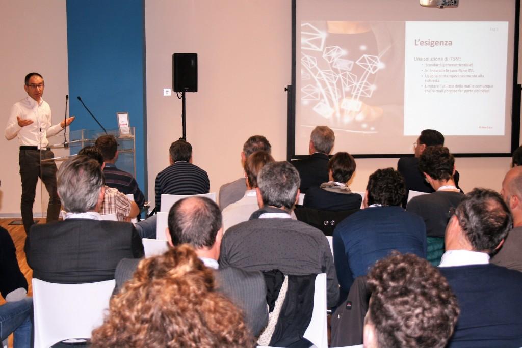 Alberto Sorato, Service Manager di Aton, illustra il Case Study di EriZone