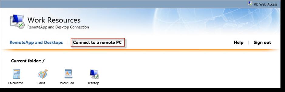 Microsoft Remote Desktop Services: Customization and