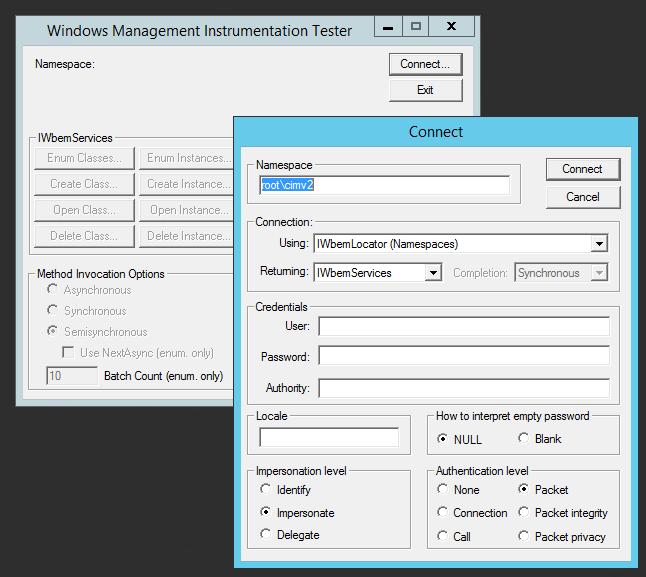 WMI agentless monitoring troubleshooting | www neteye-blog com